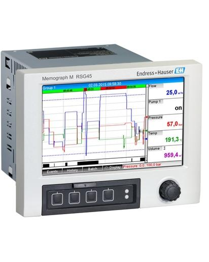 Memograph M RSG45 Enregistreur graphique évolué - Produits système et data managers Memograph M RSG45 - Enregistreur...