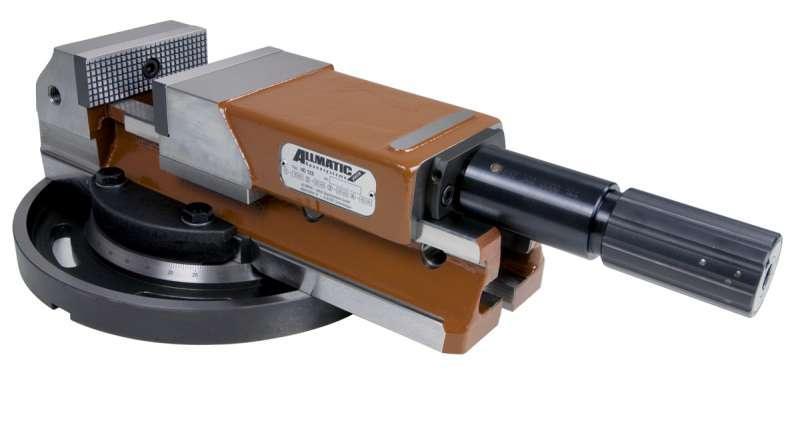 ALLMATIC HD 100 mit Drehplatte - Geeignet für schwere Zerspanung, Einzelstücke und Kleinserien
