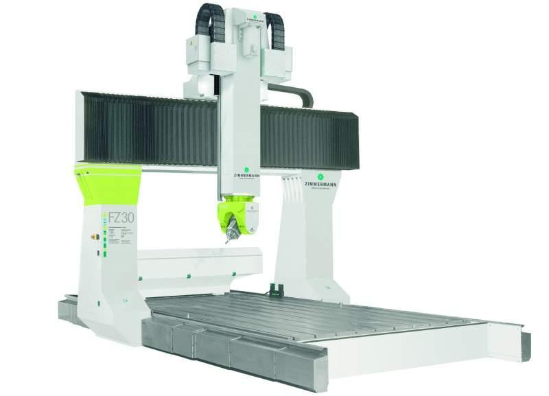 CNC Portalfräsmaschine FZ30 - 5 Achsen - FZ30 für die wirtschaftliche Bearbeitung von Leichtmetallen bis Kunststoff