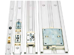 Low profile guide systems  - DryLin® N - NW 17 = 17 mm rail width