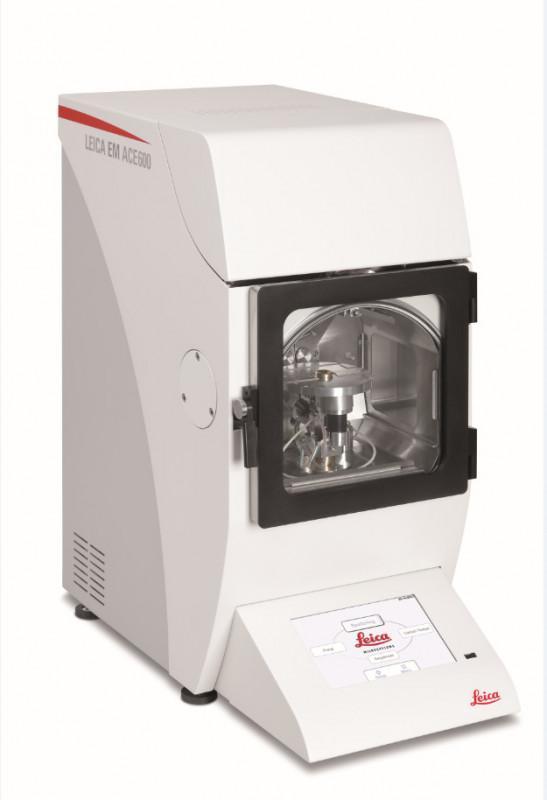Recubridor de alto vacío Leica EM ACE600 - Equipo de sputtering de alto vacío, evaporación de hilo de carbono y de e-beam