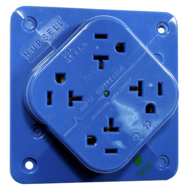 Power Quality & Conversion - Surge Protection Receptacles - HBL420HS