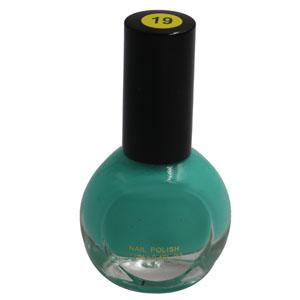 Cosmetics - Blue-Green Nail Polish