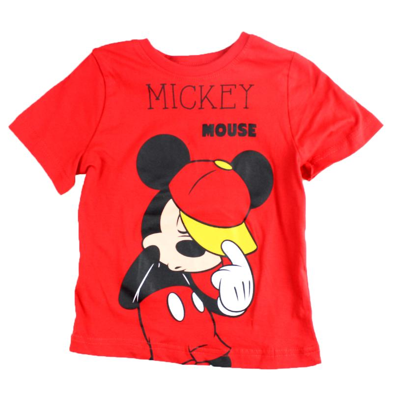 Fabricant de T-shirt manches courtes Mickey du 2 au 8 ans - T-shirt et Polo manches courtes