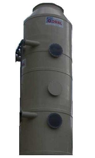 TOUR DE LAVAGE / LAVEUR D'AIR en PVC ou PPH - Odeurs, vapeurs acides