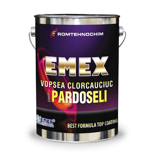 Vopsea Clorcauciuc pentru Pardoseli si Trafic EMEX   - Vopsea clorcauciuc pentru pardoseli si trafic Emex