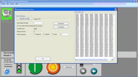 WINJET3 Mailing - Mailing-Software für industrielle Inkjet-Drucker