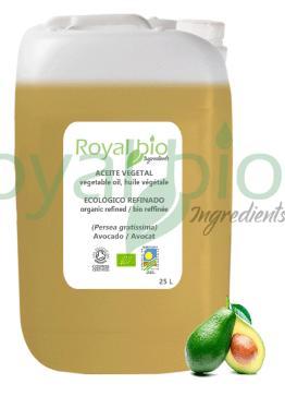 Organic Avocado Vegetable Oil, Refined - null