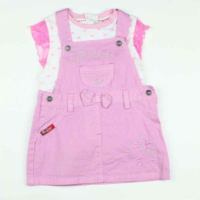 Wholesaler baby set of clothes licenced Lee Cooper - Summer Set