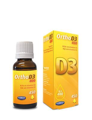Ortho D3 400 - Complément alimentaire