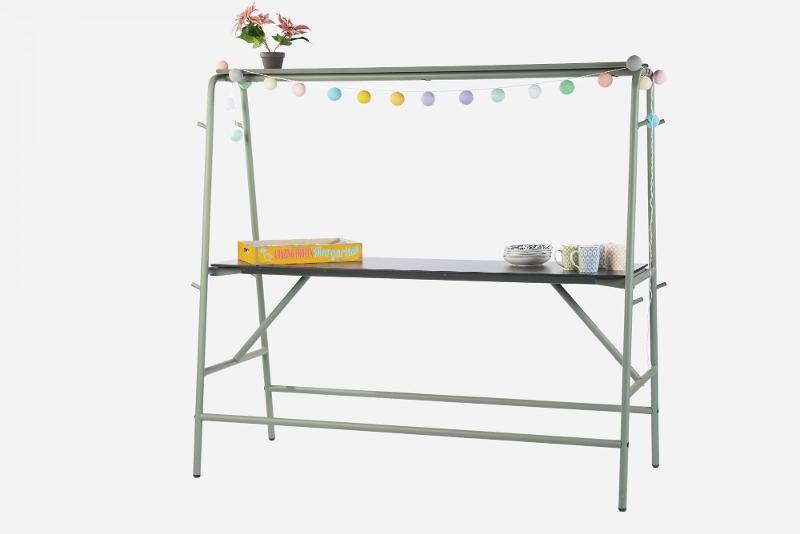 Bar table MONOBAR (with a top shelf) - Restaurant