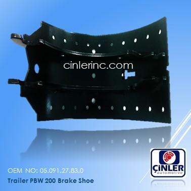 Brake Shoe - Trailer Brake Shoe