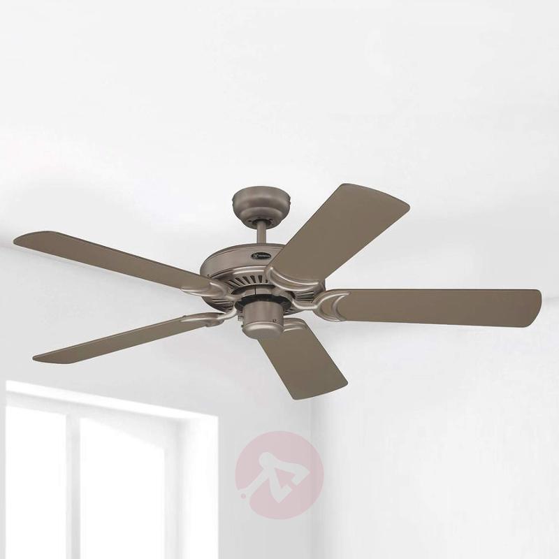 Monarch ceiling fan in titanium - fans