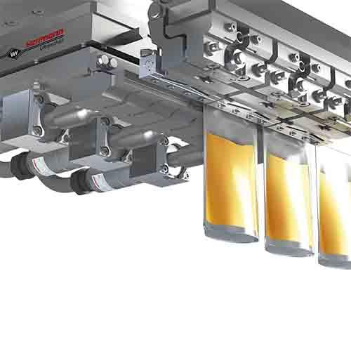 Ultrasonic component sets - for packaging machines