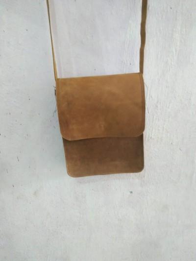 Leather ladies small bag       - Leather Buffalo Hunter