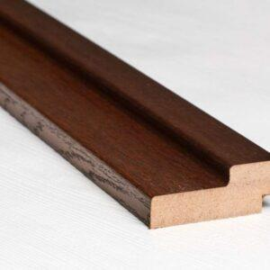 BOX TIMBER MDF ITALIAN WALNUT WITH A GROOVE FOR THE FINISH - Door frames