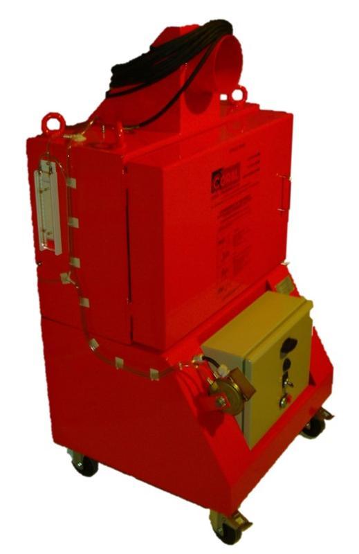 Déprimogène mobile avec filtration THE - PRO 602 F Nucléaire