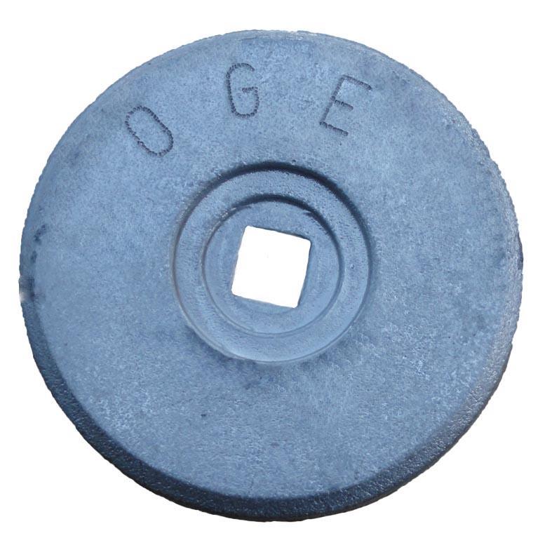 CLOUS DE REPERAGE - RONDELLE D'ARPENTAGE 70 mm grise OGE par 10