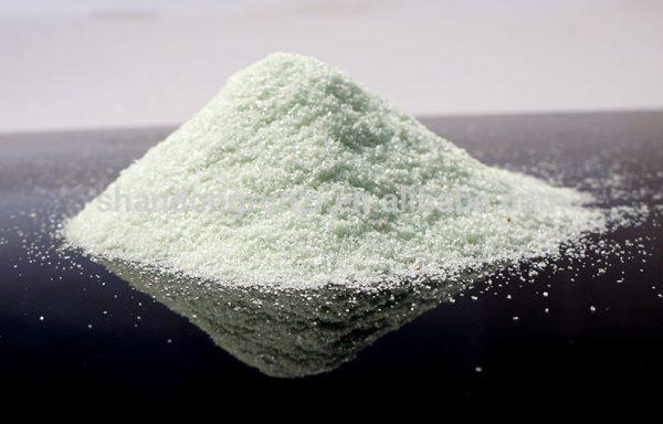 Сульфа́т желе́за(II), желе́зо(II) серноки́слое, FeSO4 . n H2 - Дехроматизатор, коагулянт, кормовая добавка.