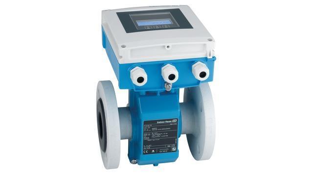 debit mesure produits - debitmetre electromagnetique promag W 400