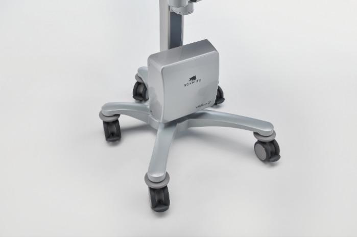 vidan®2 Le vidéocolposcope Full HD mobile - Système mobile avec 5 roulettes blocables