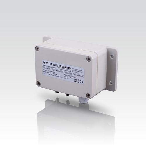 Differential Pressure Transmitter DPS 200 - differential pressure transmitter / piezoresistive / analog / for HVAC systems