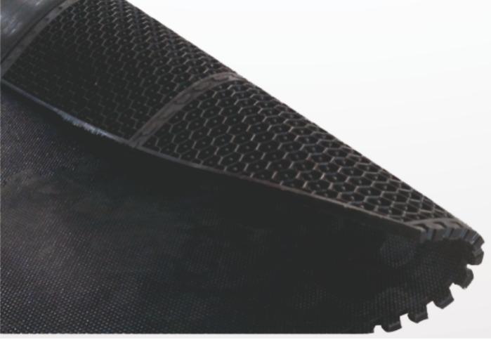 Kilitli Konfor Yatak - Arı peteği desenli ultra dayanıklı hayvan yatağı
