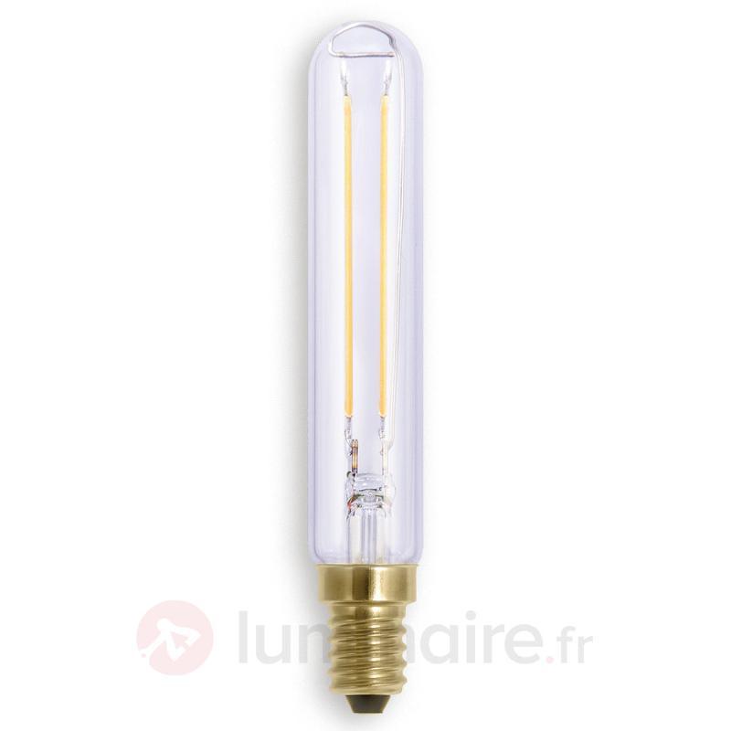 Ampoule tubulaire LED E14 2,7W 922 à filament - Ampoules LED E14