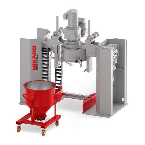 MIXACO Container Mixer Multitool™ - MIXACO Container Mixer MT: perfect mixer for temperature-sensitive bulk material