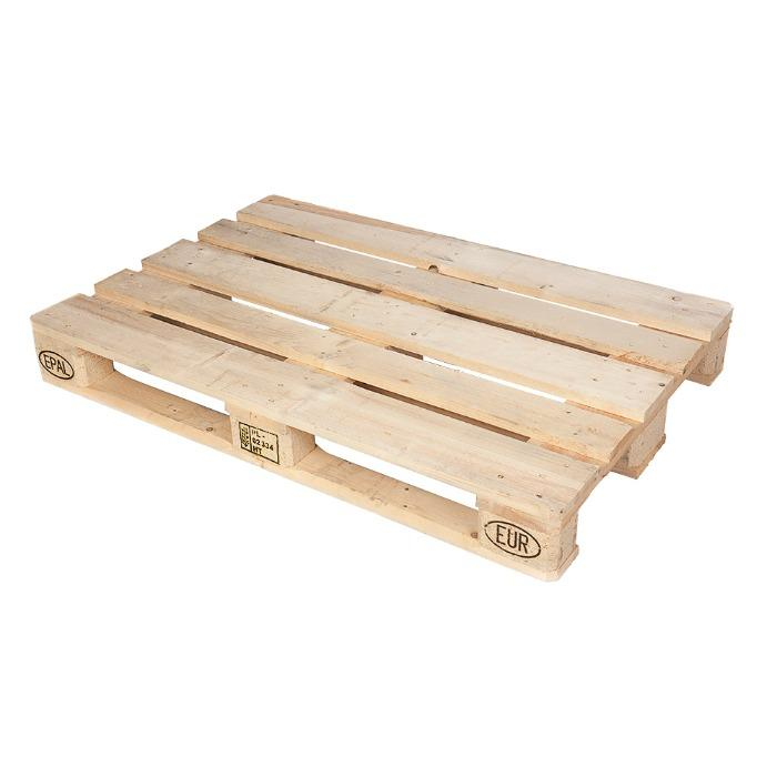 Paletes de madeira - Europalete nova EPAL - 1200x800x144mm