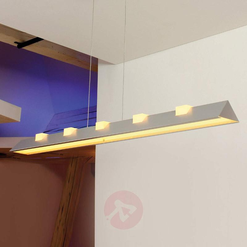 Exceptional LED pendant light CL 2 aluminium - Pendant Lighting