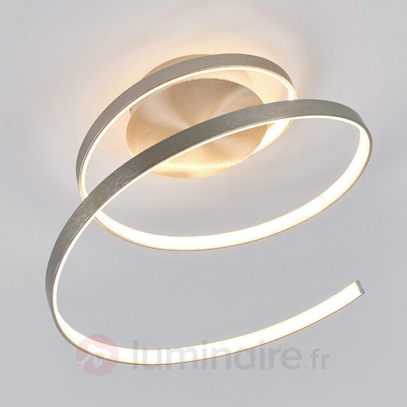 Plafonnier LED en forme de spirale Junus - Plafonniers LED