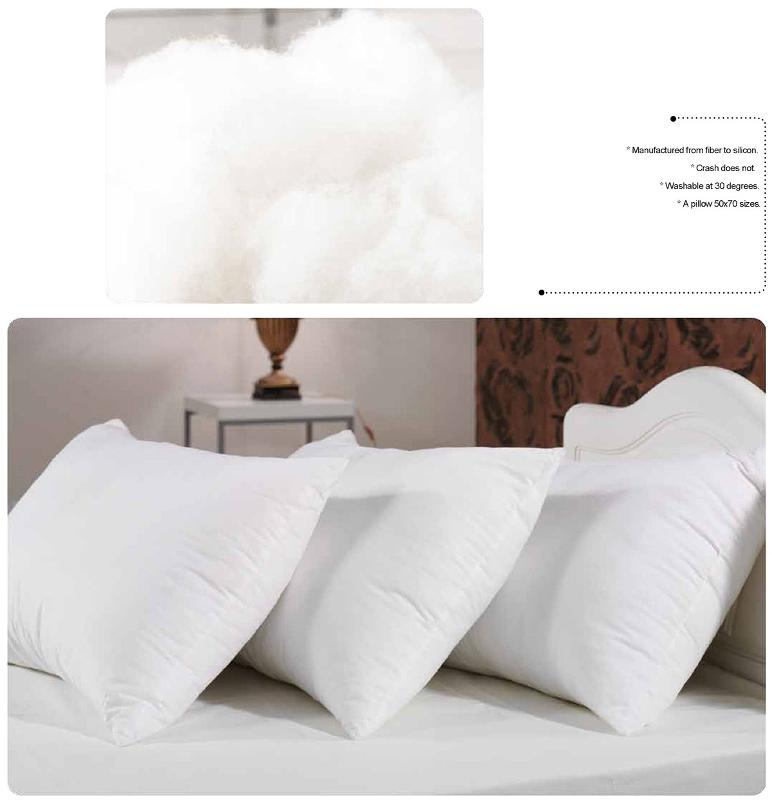 Azalea Siliconated Sleep - pillow
