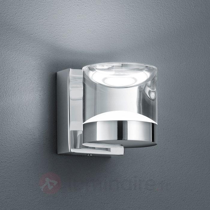 Applique murale sdb LED Brian chromée brillante - Salle de bains et miroirs