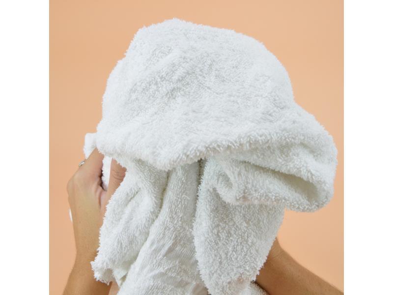 Chiffon blanc régulier serviette éponge carton 8 kg... - Essuyage