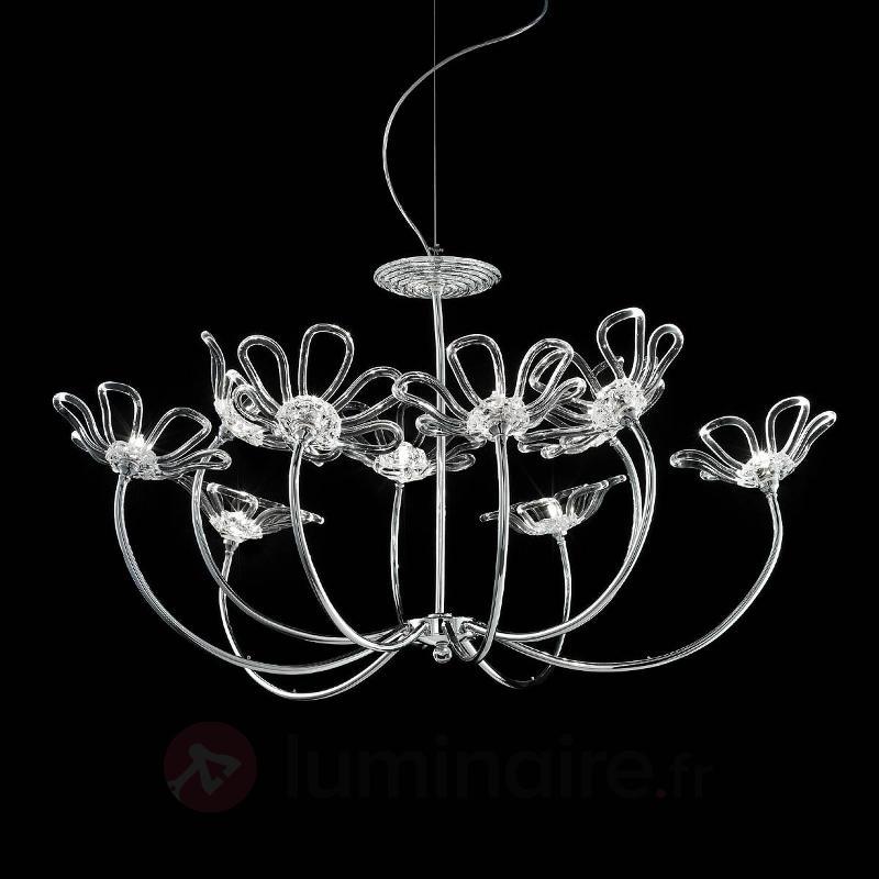 Lustre design Daisy à 10 lampes - Lustres designs, de style