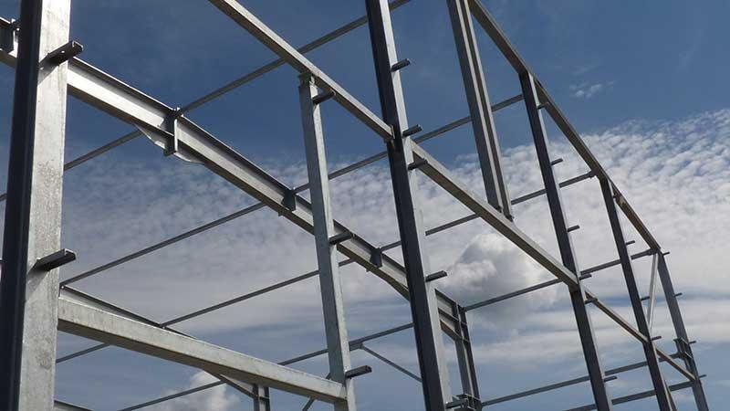 Die Stahlkonstruktion -