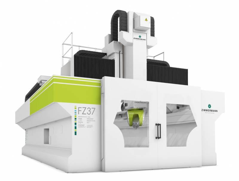 FZ37 Portal Milling Machine - 5 axis - FZ37 Portal Milling Machine for highly dynamic machining of different materials