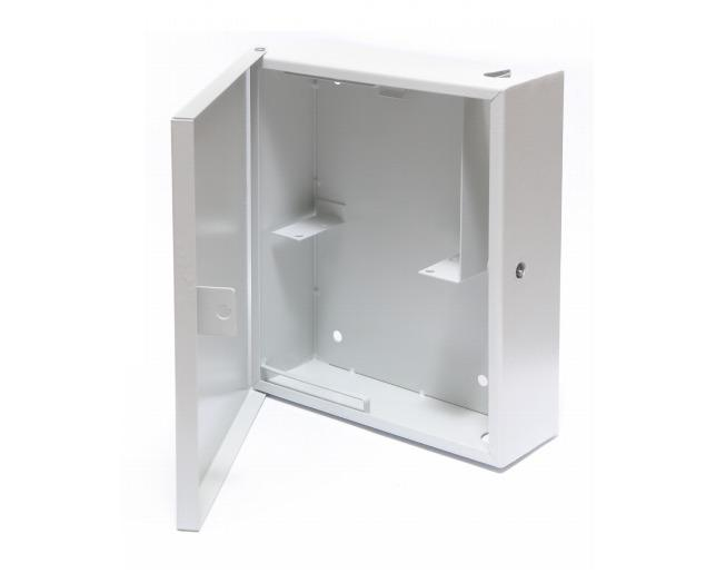 Optical subscriber cabinet Sharpey-1 - Designed for installation in communal stairwells, at staircases. It is applied d