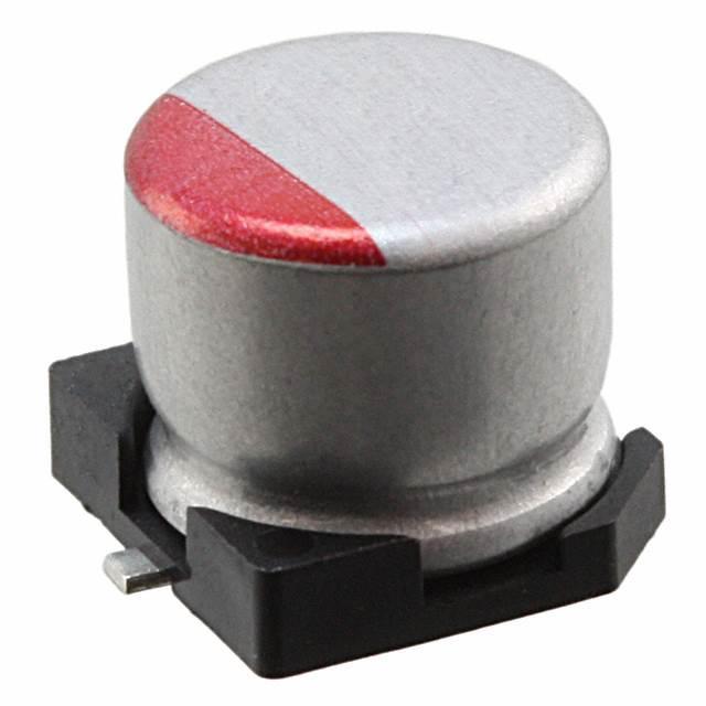 CAP ALUM POLY 330UF 20% 6.3V SMD - Nichicon RSA0J331MCN1GS