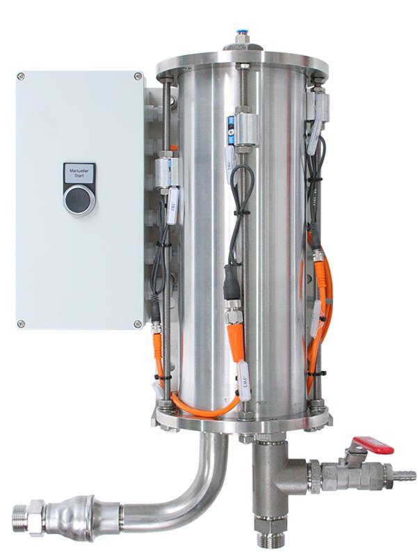 Hydrospeicher ViscoTreat-H  - kompakter Puffertank / 150 ml und 300 ml