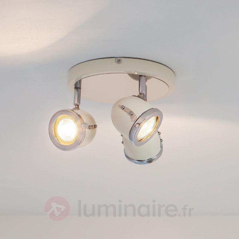 Plafonnier circulaire à trois lampes Halena - Tous les spots et projecteurs