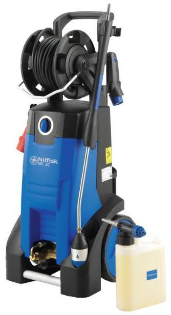 NILFISK MC 3C - Nettoyeurs mobiles eau froide petit débit - Nettoyeur Haute Pression compact eau froide avec système de détergent
