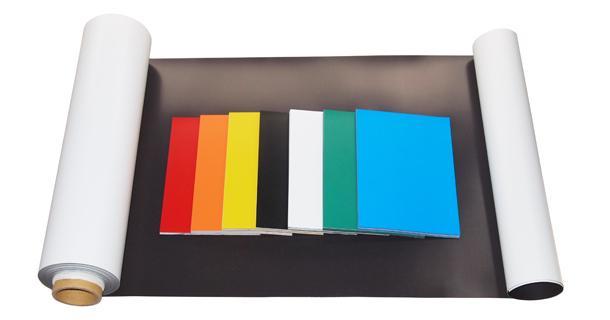 Flexible Magnetic Sheet - Vinyl laminated magnet