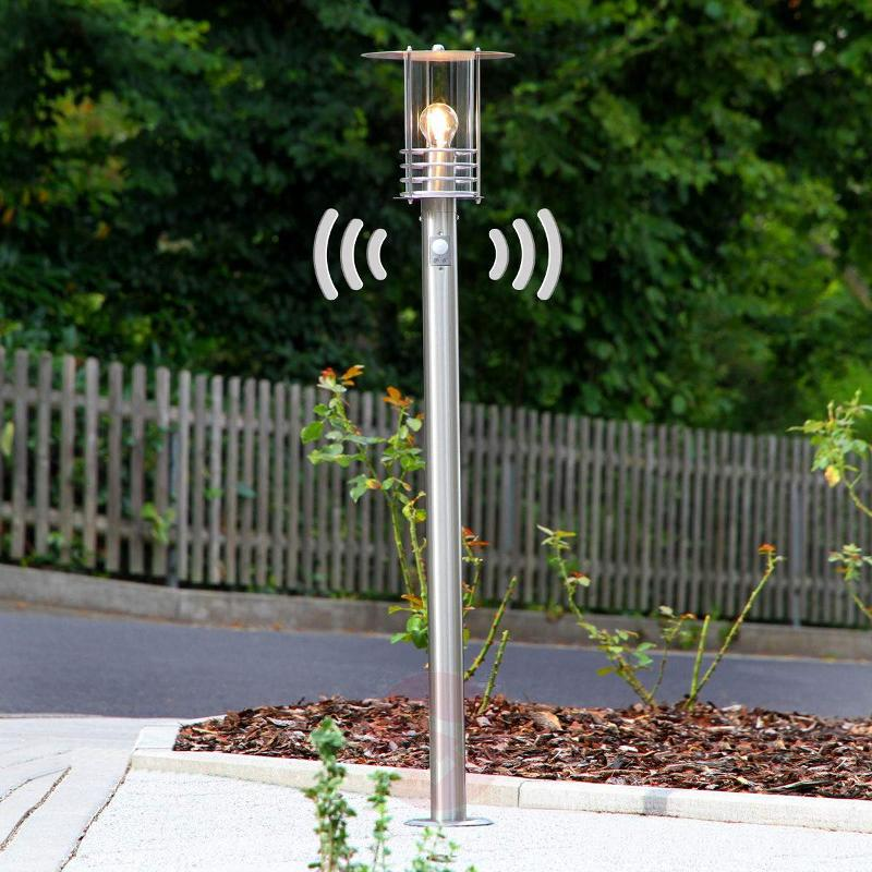 Bollard light Miko including motion detector - Path Lights with Motion Sensor