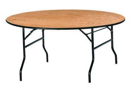 Table pliante ronde tarragone - Mobilier Intérieur