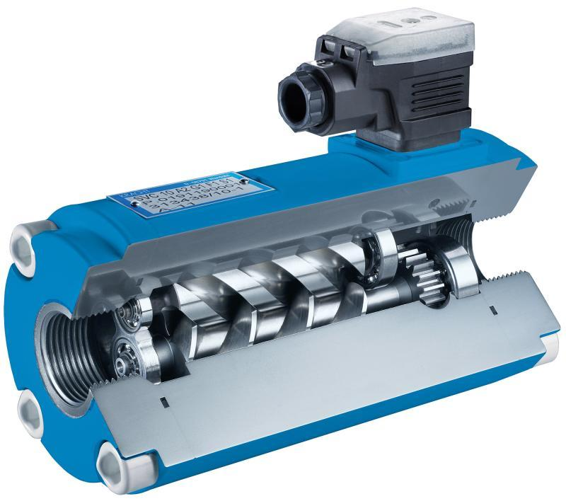 Screw-Type Flow Meters SVC - high-precision flow meters for individual customer requirements