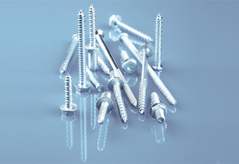 Screw for construction with special thread; to length 280mm - Roller technology