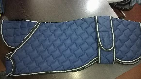 Dog coat for greyhound - Greyhound designer dog coat