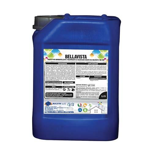 Hydrophobic Siloxanes, Bellavista - Compliant with the directive 2004/42/CE